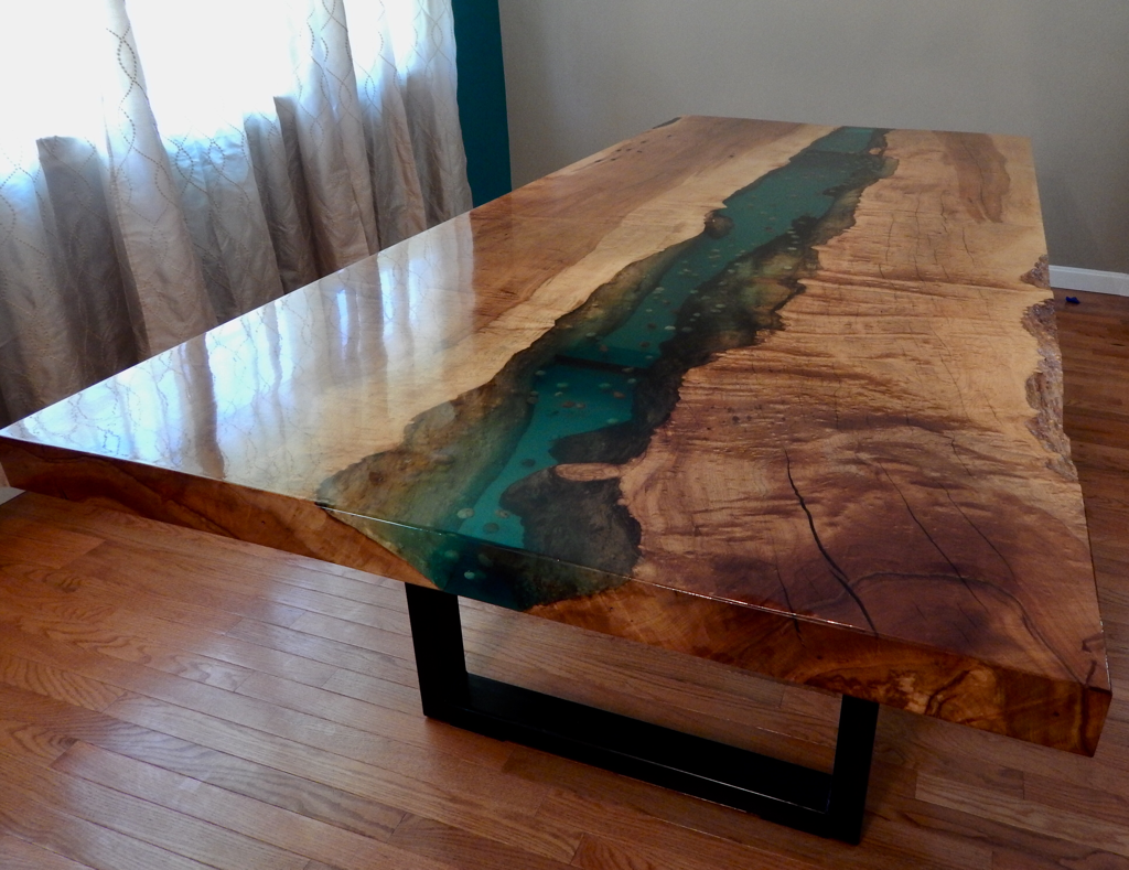 Holly Waight Designs Custom Made Live Edge Tables